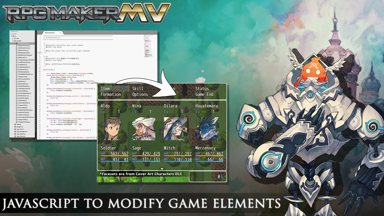 RPG Maker MV v1 6 1 download – MK Production